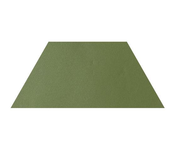 Konzept Shapes Trapezium Terra Verde von Valmori Ceramica Design | Keramik Fliesen