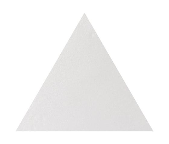 Konzept Shapes Triangle Terra Bianca by Valmori Ceramica Design | Ceramic tiles