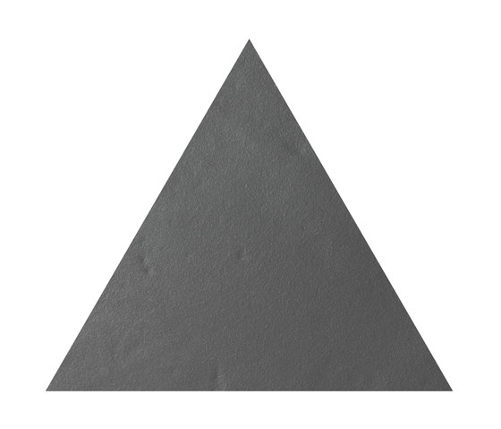 Konzept Shapes Triangle Terra Grigia von Valmori Ceramica Design | Keramik Fliesen