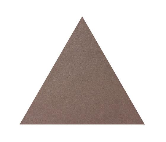 Konzept Shapes Triangle Terra Tortora by Valmori Ceramica Design | Ceramic tiles