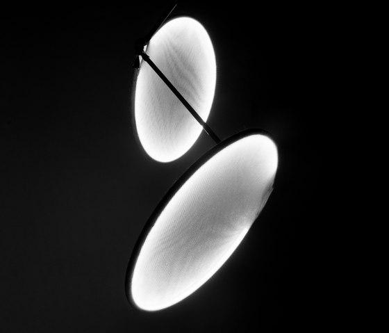 llll.03 suspended double | white de llll | Lámparas de suspensión