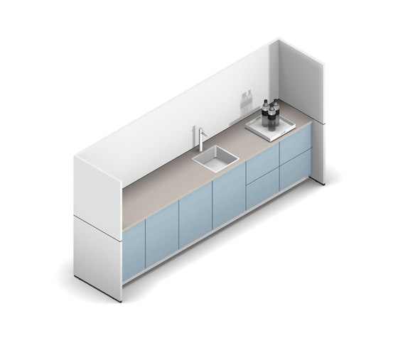 R-modul by werner works | Compact kitchens