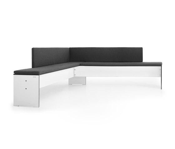 Riva Eckbank von conmoto | Sitzbänke