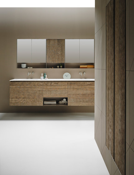 Strato Collection - Set 24 by Inbani | Vanity units