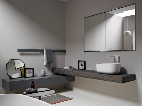 Strato Collection - Set 25 by Inbani | Vanity units