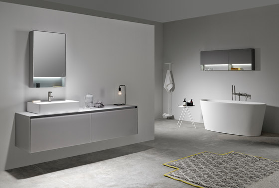 Strato Collection - Set 18 by Inbani | Vanity units