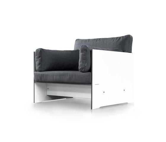 Riva lounge Lounger de conmoto | Sillones