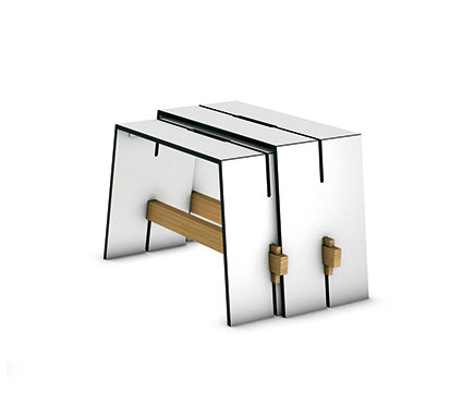 tension side table side tables from conmoto architonic. Black Bedroom Furniture Sets. Home Design Ideas
