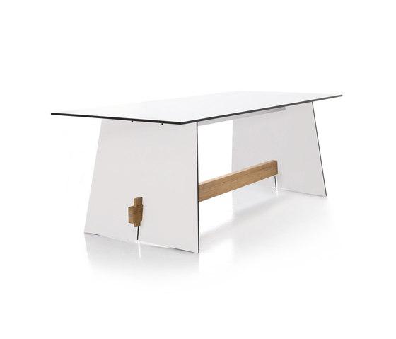 Tension rectangular table di conmoto   Tavoli pranzo