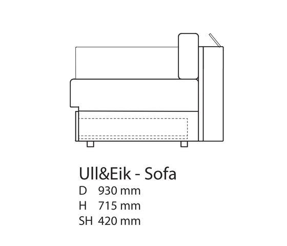 Ull & Eik Sofa di Thorsønn | Divani