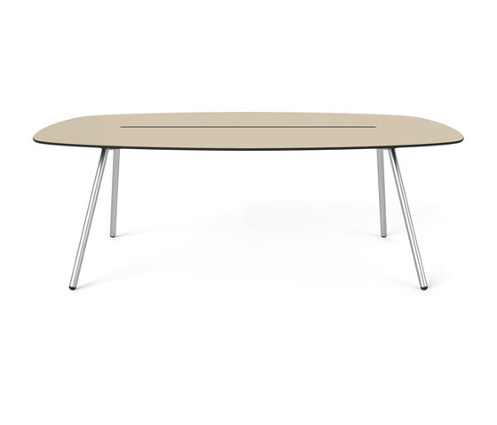 Long Board a-Lowha 200x95, dinner/conference table di Lonc | Tavoli pranzo