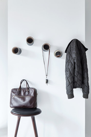 Hole On Coat Racks by JENSENplus | Built-in wardrobes