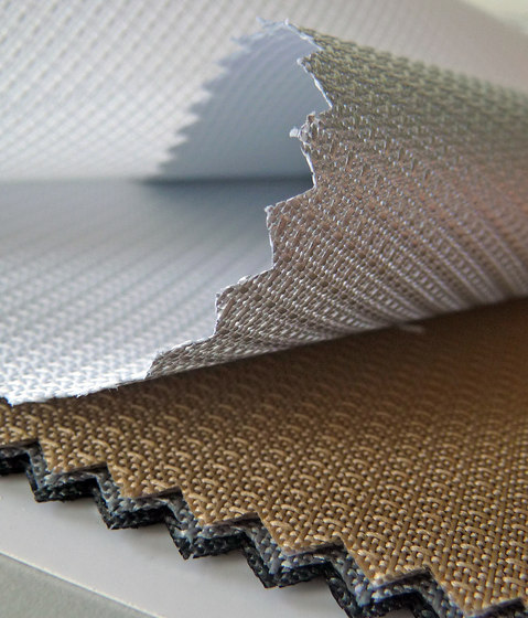 Fabric Newlife Screen / Newlife Screen Alu by Silent Gliss | Drapery fabrics