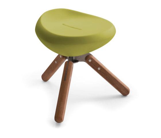 Beaser Wood 45, stool di Lonc   Pouf