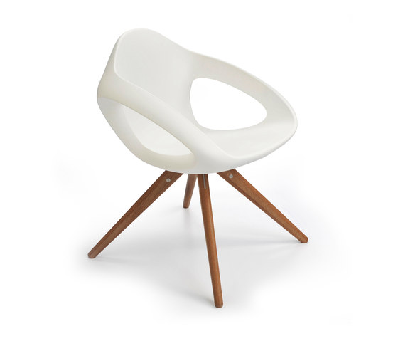 Easer Wood, chair de Lonc | Sillas para restaurantes