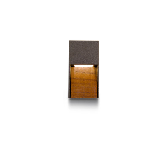 Miniskill Wood vertical by Simes | Outdoor wall lights