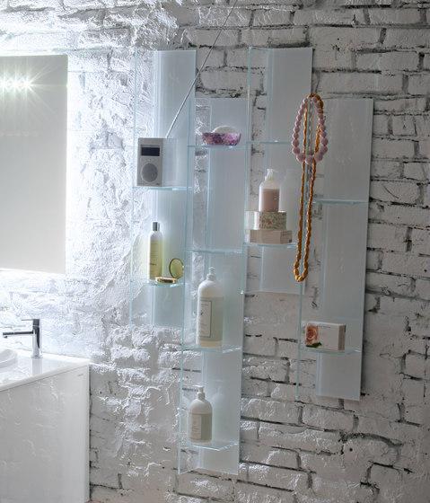Domino AL348 by Artelinea | Bath shelving