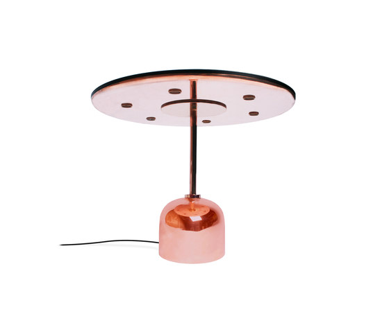 Tray It - Desk Lamp - copper de Stabörd | Bandejas
