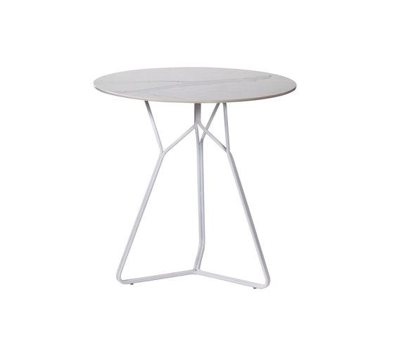 Serac Dining Table Ceramic di Oasiq | Tavoli bistrò