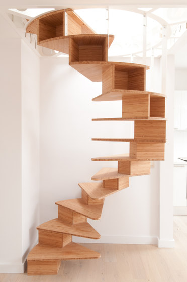 Escalier colimaçon Olmo - Escaliers en bois de Jo-a  Architonic