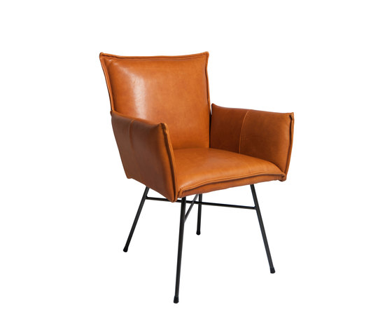Sanne dining chair with arms by Jess Design | Restaurant chairs