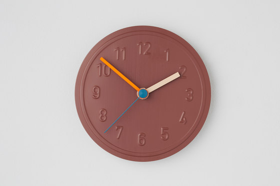 Alu Alu wall clock de Richard Lampert | Relojes