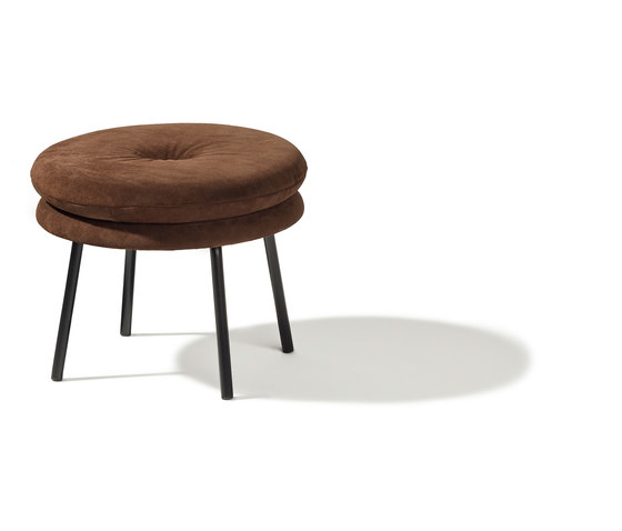 Little Tom stool by Richard Lampert | Poufs