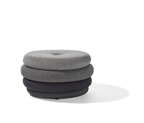 Fat Tom pouf by Lampert | Poufs