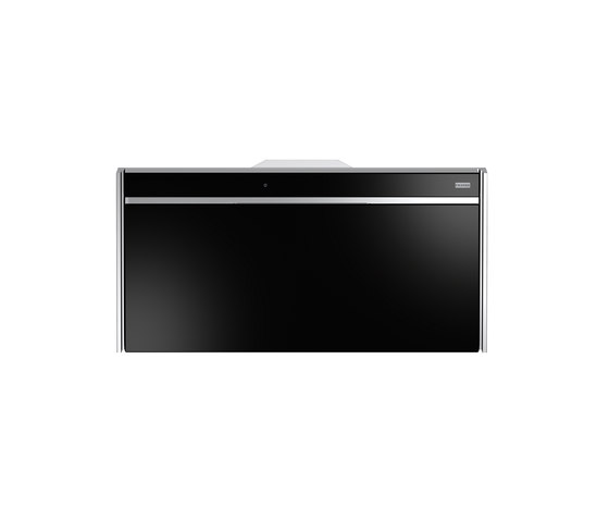 Frames by Franke Hood FS VT 906 W XS BK Stainless Steel-Glass Black by Franke Kitchen Systems | Kitchen hoods
