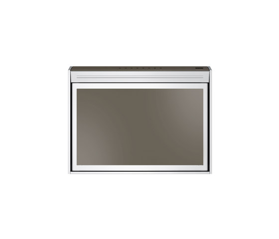 Frames by Franke Hood FS TS 606 W XS CH Stainless Steel-Glass Champagne by Franke Kitchen Systems | Kitchen hoods