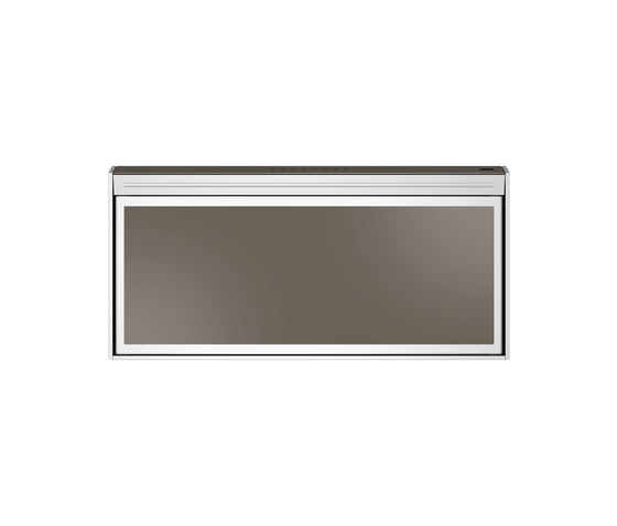 Frames by Franke Hood FS TS 906 W XS CH Stainless Steel-Glass Champagne by Franke Home Solutions | Kitchen hoods