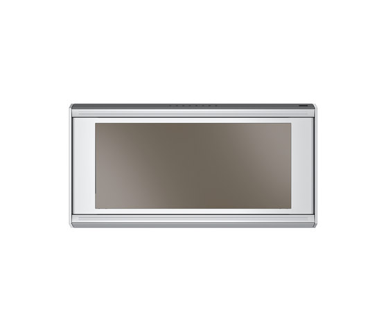 Frames by Franke Hood FS TS 906 I XS CH Stainless Steel-Glass Champagne by Franke Kitchen Systems | Kitchen hoods