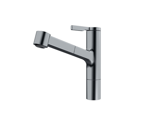 Frames by Franke Pull Out Spray - FS TL SP DS Nickel Optics by Franke Kitchen Systems | Kitchen taps