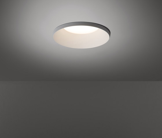 Smart kup 160 diffuse IP54 LED GE by Modular Lighting Instruments | Recessed ceiling lights