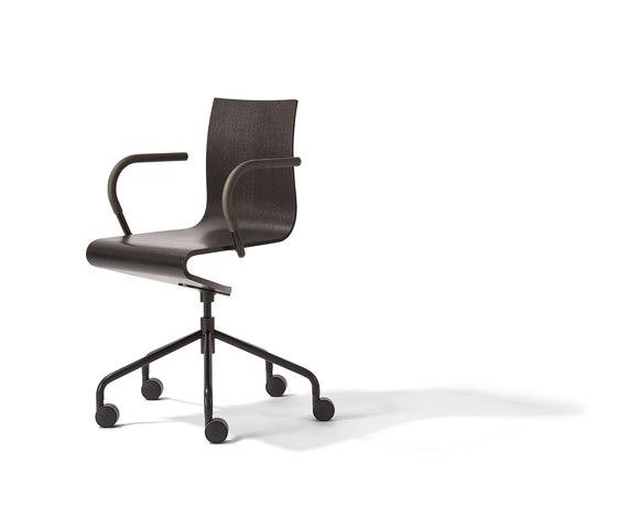 Seesaw working chair di Richard Lampert | Sedie girevoli da lavoro