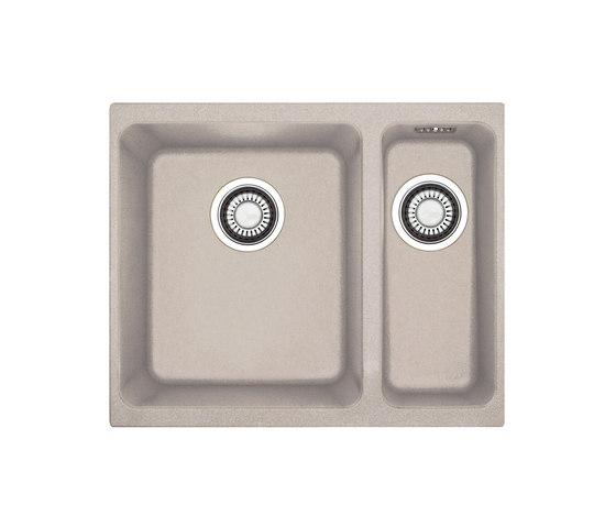 Kubus Sink KBG 160 Fragranite + Sahara by Franke Kitchen Systems | Kitchen sinks