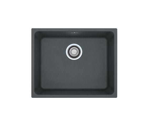 Kubus Sink KBG 110-50 Fragranite + Graphite by Franke Home Solutions | Kitchen sinks