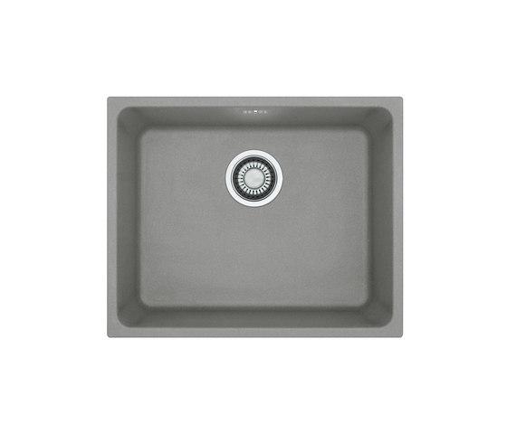 Kubus Sink KBG 110-50 Fragranite + Stone Grey by Franke Kitchen Systems | Kitchen sinks
