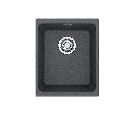 Kubus Sink KBG 110-34 Fragranite + Graphite by Franke Kitchen Systems | Kitchen sinks