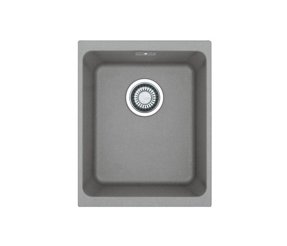 Kubus Sink KBG 110-34 Fragranite + Stone Grey by Franke Kitchen Systems | Kitchen sinks