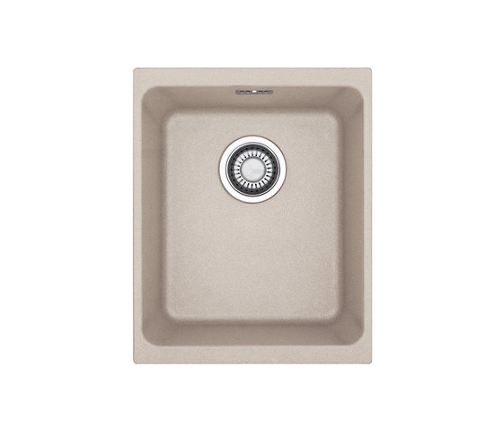 Kubus Sink KBG 110-34 Fragranite + Sahara by Franke Kitchen Systems   Kitchen sinks