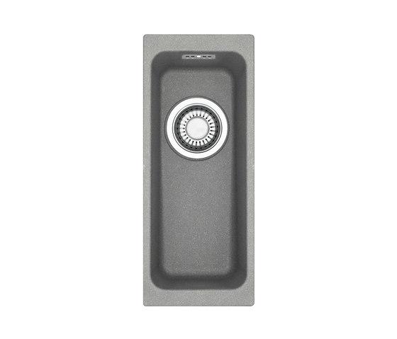 Kubus Sink KBG 110-16 Fragranite + Stone Grey by Franke Home Solutions | Kitchen sinks