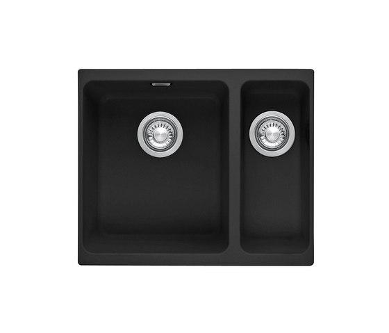 Kubus Sink KBG 160 Fragranit + Onyx by Franke Kitchen Systems | Kitchen sinks