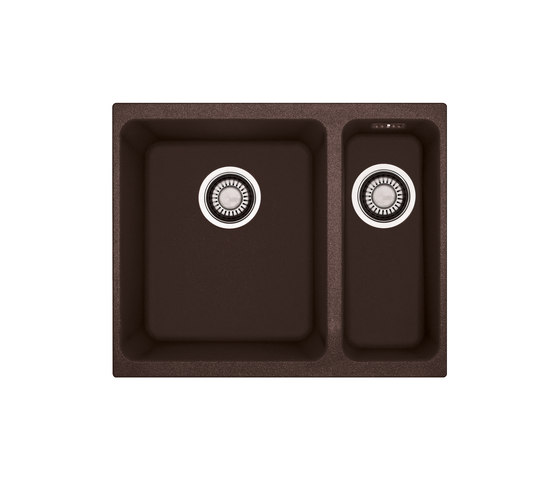 Kubus Sink KBG 160 Fragranit + Chocolate by Franke Kitchen Systems | Kitchen sinks