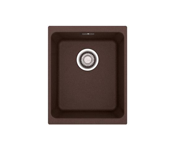 Kubus Sink KBG 110-34 Fragranit + Chocolate by Franke Kitchen Systems   Kitchen sinks