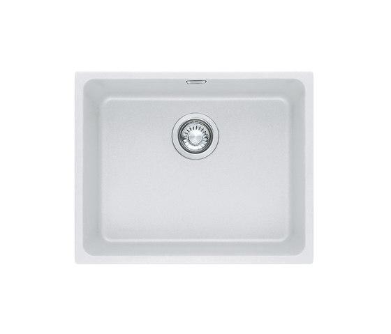 Kubus Sink KBG 110 50 Fragranite + Glacier by Franke Kitchen Systems | Kitchen sinks