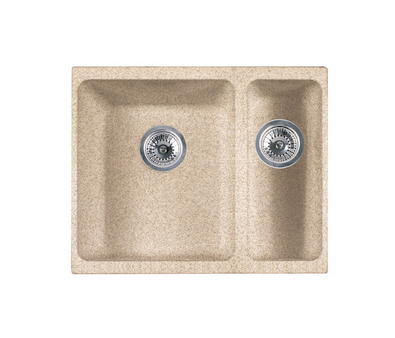 Kubus Sink KBG 160 Fragranite + Beige by Franke Kitchen Systems   Kitchen sinks