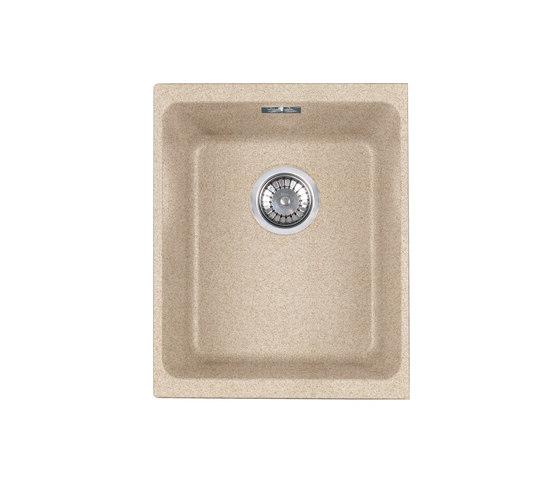 Kubus Sink KBG 110-34 Fragranite + Beige by Franke Kitchen Systems   Kitchen sinks