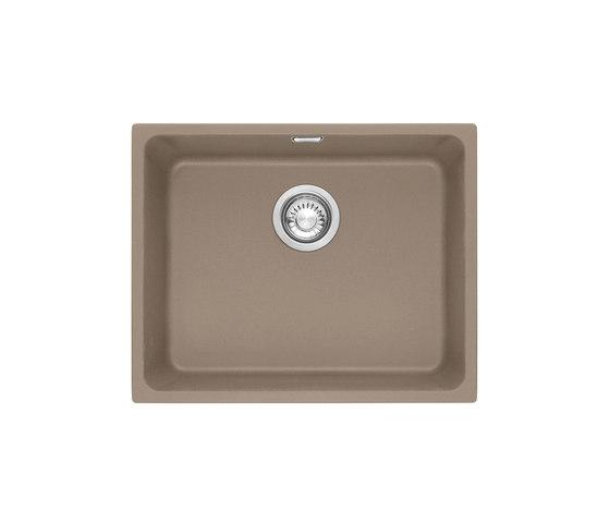 Kubus Sink KBG 110 50 Fragranite + Cashmere by Franke Home Solutions | Kitchen sinks