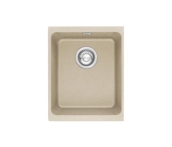 Kubus Sink KBG 210-37 Fragranite + Sahara by Franke Kitchen Systems   Kitchen sinks